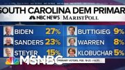NBC News/Marist SC poll: Biden Narrowly Leads Sanders Ahead Of SC Primary | MTP Daily | MSNBC 5