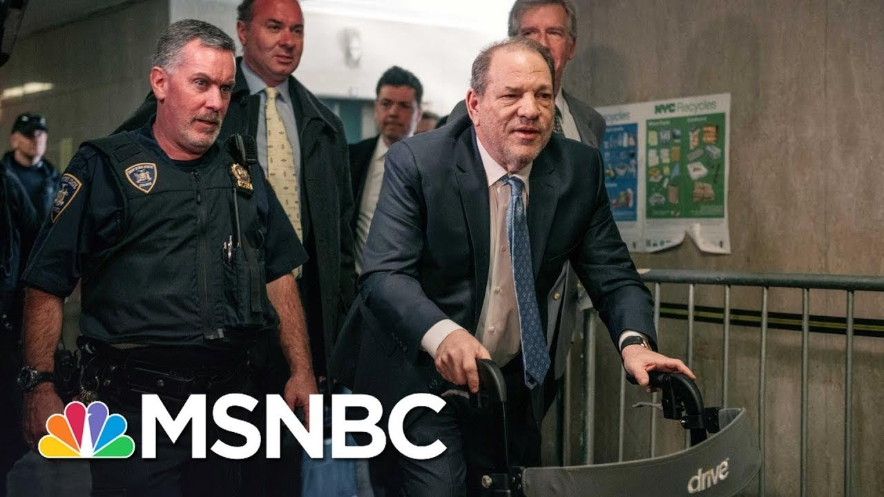 A 'Legal Reckoning' For Harvey Weinstein - Day That Was   MSNBC 8