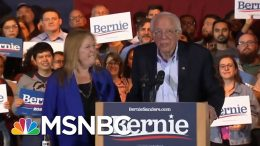 Sanders Riding Big Nevada Win Into South Carolina | Deadline | MSNBC 9