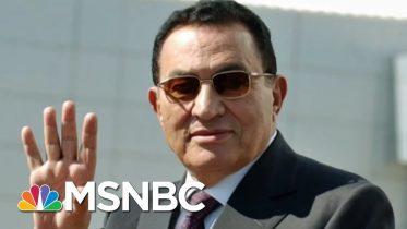 Former Egyptian President Hosni Mubarak Has Died Aged 91 | Morning Joe | MSNBC 6