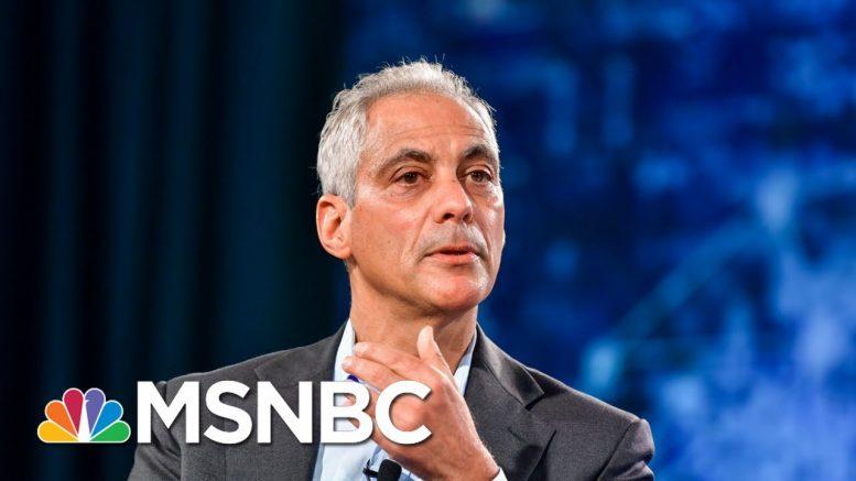 Rahm Emanuel On U.S. Mayors, Bloomberg's Campaign | Morning Joe | MSNBC 1