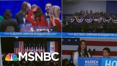 Iowa Precinct Captain Has Tried To Report Results For 2 Hours | MSNBC 6