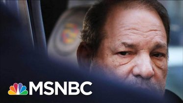 Convicted Rapist Harvey Weinstein Rerouted To Hospital On His Way To Jail | Velshi & Ruhle | MSNBC 1