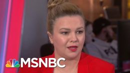 Amber Tamblyn: Harvey Weinstein Is 'An Actual Rapist According To The Law'   Velshi & Ruhle   MSNBC 1