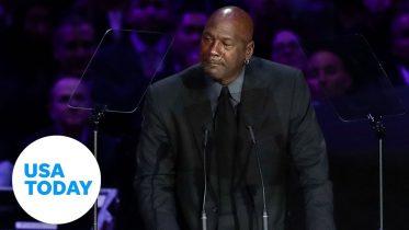 Michael Jordan tears up over Kobe Bryant, cracks 'crying Jordan' joke | USA TODAY 6