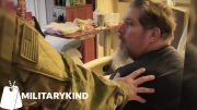 Soldier returns home for dad's surgery | Militarykind 3