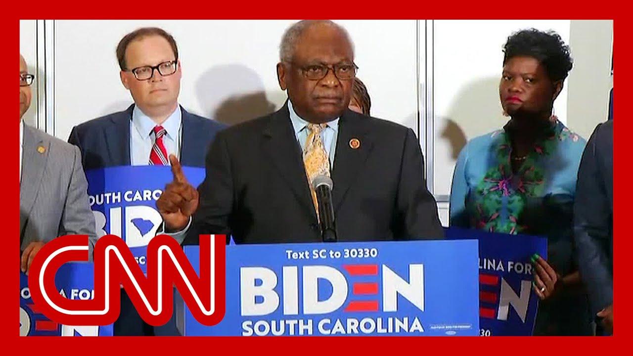 Rep. Clyburn unveils key South Carolina endorsement 8