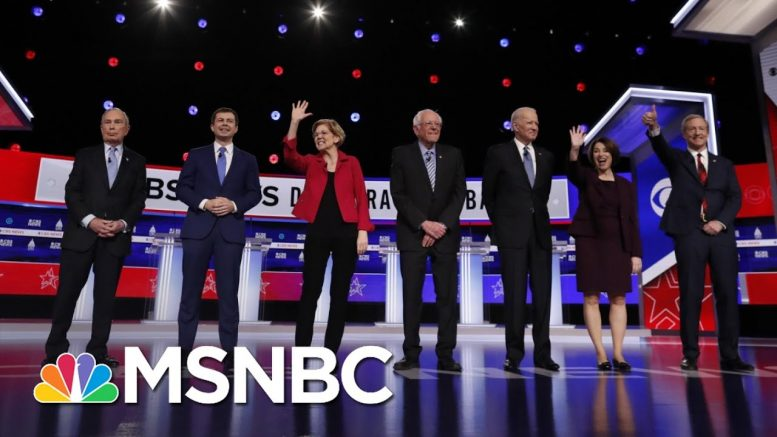 Passion But Lack Of Specifics As Democrats Debate Racial Injustice | The 11th Hour | MSNBC 1