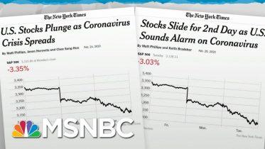 Trump Admin Lacks Credibility To Calm Markets On Coronavirus News | Rachel Maddow | MSNBC 10