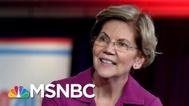 Sen. Elizabeth Warren Starts Off Measured, Then Turns To Bloomberg | Morning Joe | MSNBC 6