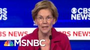 Will Warren's Attacks On Bloomberg Prove Effective? | Morning Joe | MSNBC 3