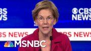 Will Warren's Attacks On Bloomberg Prove Effective? | Morning Joe | MSNBC 2