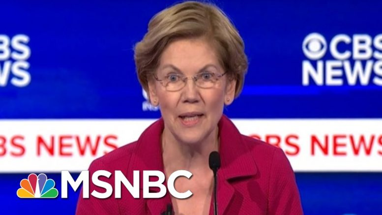 Will Warren's Attacks On Bloomberg Prove Effective? | Morning Joe | MSNBC 1