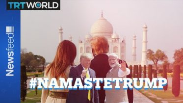 Donald goes to India to meet Narendra 6