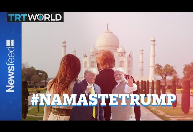 Donald goes to India to meet Narendra 1