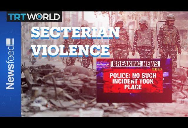 As Delhi burns, Indian TV misses the point 1
