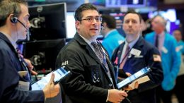Stocks surged wednesday