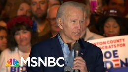 Joe Biden Picks Up Momentum With Buttigieg, Klobuchar, O'Rourke Endorsements - Day That Was | MSNBC 1