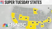 2020 Super Tuesday: First Polls Set To Close As 14 States Hold Primaries | MTP Daily | MSNBC 2