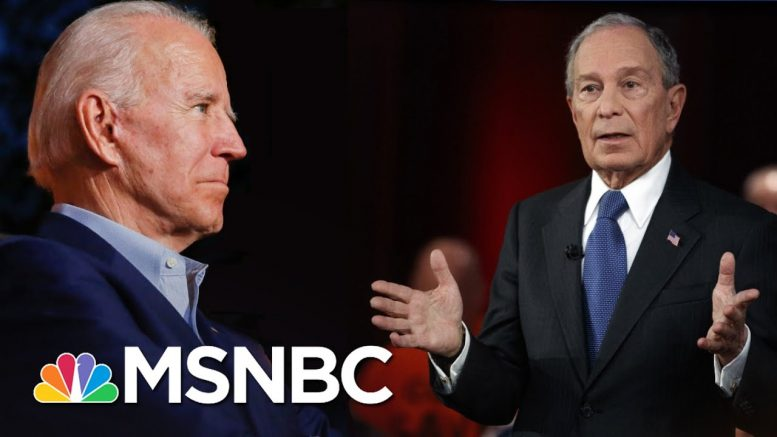 Nicolle Wallace: Bloomberg's Dream Is Based On Biden's Nightmare | The 11th Hour | MSNBC 1