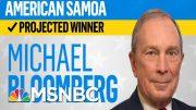 Bloomberg Wins American Samoa, Gabbard Will Receive Delegate, NBC News Projects | MSNBC 3