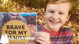 Soldier's son teaches other kids to be brave | Militarykind 7