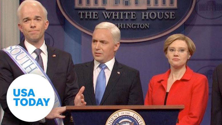 SNL: Mike Pence, Democrats tackle coronavirus | USA TODAY 1