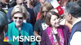 2020 Candidates Attend Selma Bridge Crossing Jubilee Ahead Of Super Tuesday | MSNBC 5