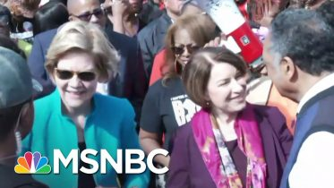 2020 Candidates Attend Selma Bridge Crossing Jubilee Ahead Of Super Tuesday | MSNBC 10
