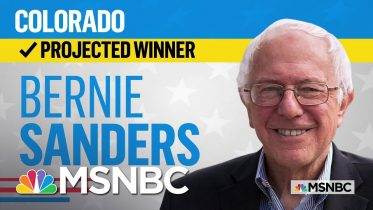 Bernie Sanders Wins Colorado, NBC News Projects | MSNBC 6