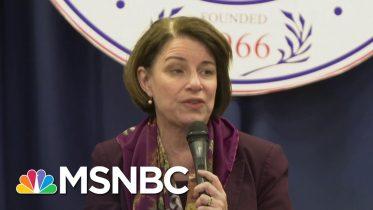 Klobuchar Talks Supporting Better Schools In Poor Areas During Selma Presidential Forum | MSNBC 6