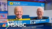 Joe Biden Wins Texas, NBC News Projects | MSNBC 2