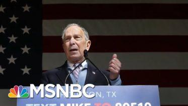 Joe: Mike Bloomberg's Focus On Defeating Trump Will Continue | Morning Joe | MSNBC 6