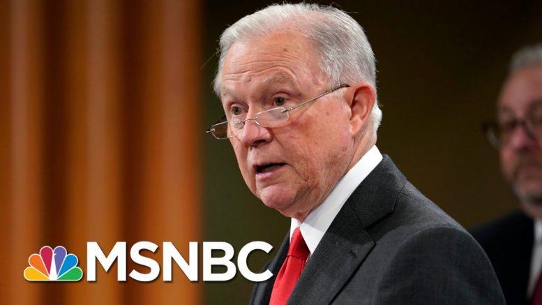 Trump Attacks Jeff Sessions On Twitter | Morning Joe | MSNBC 1