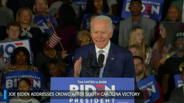 Joe Biden delivers remarks upon South Carolina victory 10