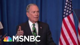 Mike Bloomberg: Staying In The Race Would Make It 'More Difficult' To Beat Trump   MSNBC 7