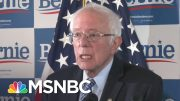 Bernie Sanders Hopes To Focus On 'Issue Oriented Campaign' | Katy Tur | MSNBC 3
