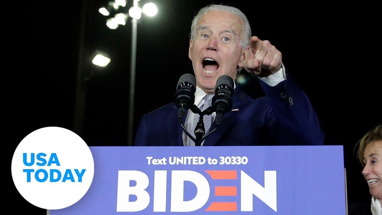 Joe Biden has big Super Tuesday, race clarified to two frontrunners | USA TODAY 1