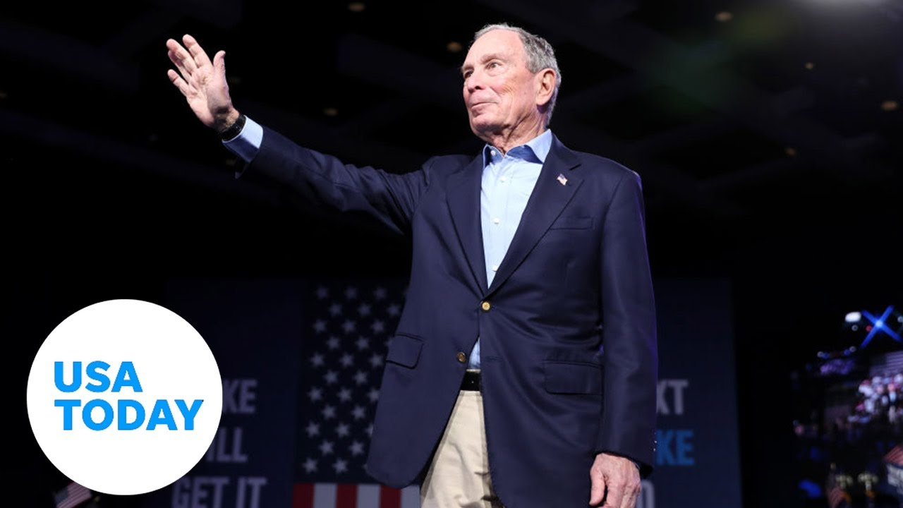 Mike Bloomberg speaks after ending bid for Democratic nomination | USA TODAY 6