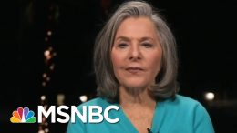 Barbara Boxer On Why She Waited To Endorse Joe Biden | All In | MSNBC 4