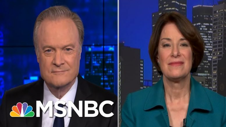 Sen. Klobuchar On What It Will Take To Win Back The Senate In 2020 | The Last Word | MSNBC 1