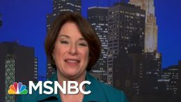 Klobuchar On Her Emotional Decision To Suspend Campaign And Endorse Biden | The Last Word | MSNBC 9