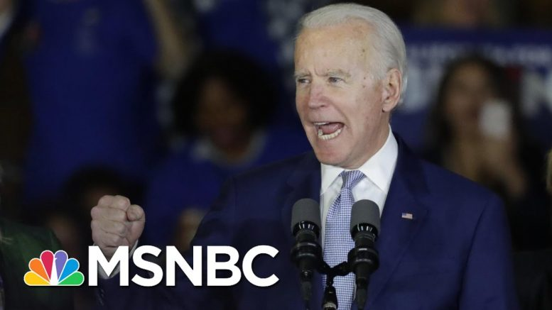Trump Turns His Attacks On A Resurgent Biden After Super Tuesday | The 11th Hour | MSNBC 1
