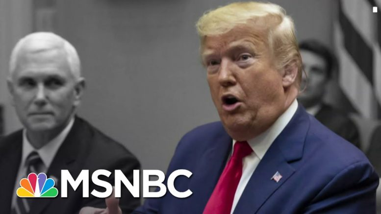 Is Team Trump Ready To Face Biden If He Wins The Nomination?   The 11th Hour   MSNBC 1