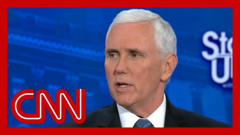 Tapper presses Pence: Do you think Democrats want people to get coronavirus? 1