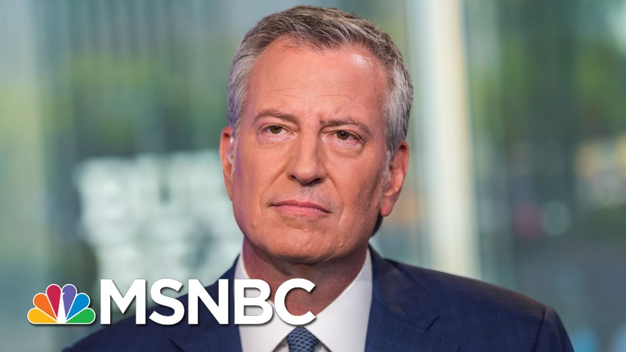 Bill De Blasio Says Biden Better Than Trump But Lacks Vision For Change | Morning Joe | MSNBC 5