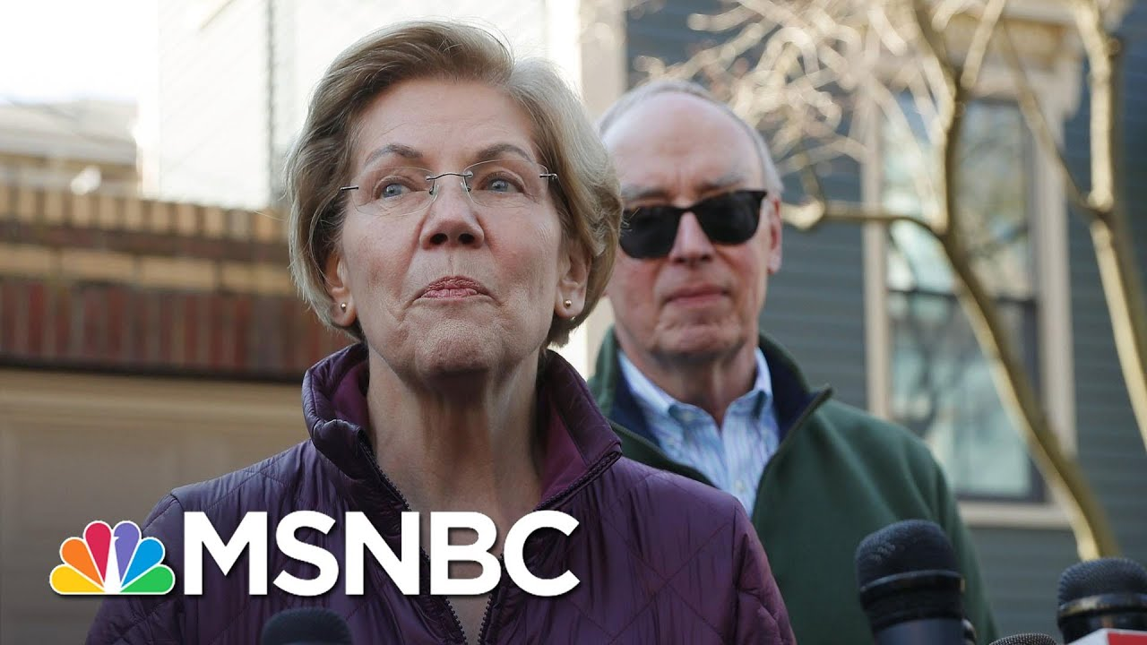Elizabeth Warren Says Running For President Was 'Honor Of A Lifetime'   MSNBC 1