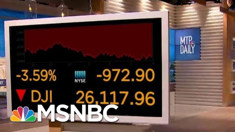 Fears And Confusion Surrounding The Coronavirus Have Caused Stock Market Plummet | MTP Daily | MSNBC 1