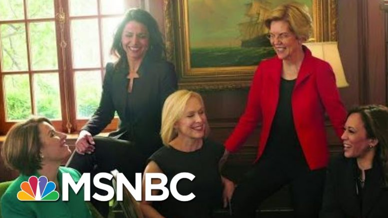 Elizabeth Warren's Drop Sparks Demand For 'A Woman Running Mate' | The Beat With Ari Melber | MSNBC 1