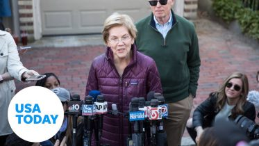 Sen. Elizabeth Warren speaks after dropping out of presidential race 6